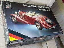 Pocher 1:8 Mercedes Benz Special Roadster extra tools, manuals, K-90 real spokes