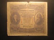 1944 Norway 100 Kroner