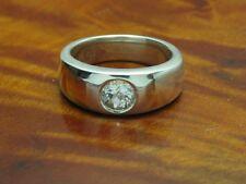 925 Sterling Silber Ring mit Spinell Besatz / Echtsilber / RG 57 / 9,4g
