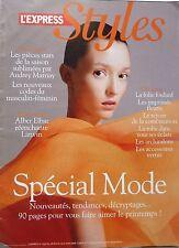 Mag 2008: AUDREY MARNAY_ISABELLE BOULAY_OLIVIA RUIZ_ALBER ELBAZ