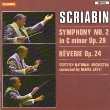 Scriabin: Symphony No. 2 in C minor, op.29/Reverie, op.24 Neeme Järvi NUOVO