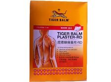Tiger Balm Plaster Warm 10x14cm Relief Muscular Aches Pains Back Shoulders x 9