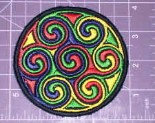 Celtic Psychedelic Embroidered Patch