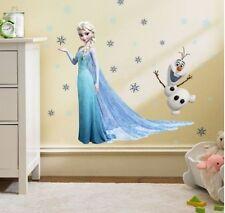 Frozen Elsa Wall decal Removable sticker decor kids