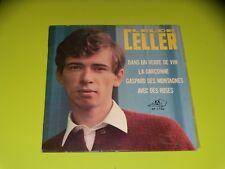 45  tours EP -  CLAUDE CELLER - DANS UN VERRE DE VIN  - 1967