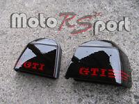 -VW Golf 3 schwarze Rückleuchten Black Tail Lights GTI Logo