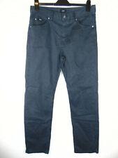 Hugo Boss Alabama Comfort Fit Mens Blue Stretch Canvas Jeans W32 L32