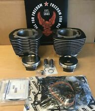 "Harley twin cam 110 "" BIG BORE KIT, 2007-17 Touring & Softail Black V-Twin"