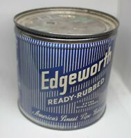 Vintage Edgeworth tobacco tin round Large