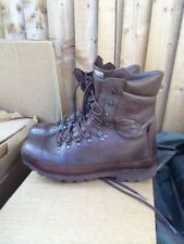 More details for altberg defender brown leather army issue boots