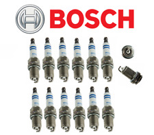 OEM Spark Plugs Platinum Plug Bosch Mercedes 112 V6 C CLK E ML SLK (12pcs)