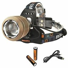 Rechargeable Camping & Hiking Headlamps with 2 Batteries