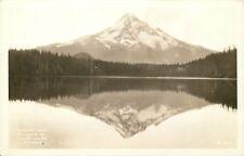 RPPC OR Postcard C876 Reflections Mt Hood at Lost Lake Oregon 803