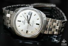 1969 Omega Seamaster Cosmic Cal 565 Automatic Silver Dial Men's Watch Vintage