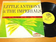 """DOO-WOP GROUP LP - LITTLE ANTHONY & IMPERIALS - FORUM CIRCLE 9107 - """"SING HITS"""""""