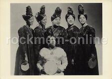 Famous Ward Singers Postcard