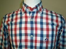 In EXCELLENT Condition - Mens CLAUDIO CAMPIONE Check Shirt - Size SMALL Marlin
