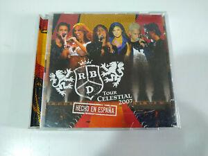 RBD REBELDE - 2 x CD Tour Celestial 2007 Hecho en España - 2T