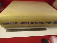 Vintage Bruel Kajer Danimarca Manuale di Manutenzione Multiplo Modelli in Foto