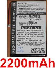 Batterie 2200mAh type P325385A4H Pour Apple iPod 2nd generation (32GB)