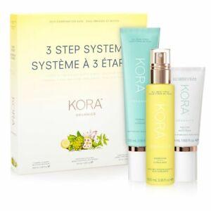 NEW Kora Organics by Miranda Kerr 3 Step System Oily/Combination Skin Free Post