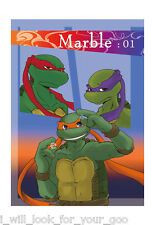 special+spec TMNT A5 24pages Teenage Mutant Ninja Turtles doujinshi L and D