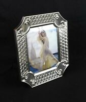 """Rare Vintage Towle Silverplate Ornate Picture Photo Frame Fits 10"""" x 8"""""""