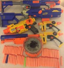 Nerf N-Strike CS-6 Longstrike Sniper Rifle CS-35 Soft Dart Gun Bundle