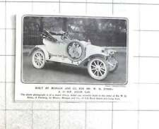 1912 Smart 10 h.p. Adler Car Built For Mr W H Steen Of Finlarig
