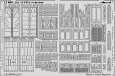Eduard 1/72 HEINKEL HE 111p-2 Exterior # 72609