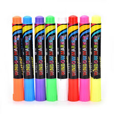 Highlighter Liquid Chalk Pen Marker for Glass Windows Chalkboard Blackboard fo
