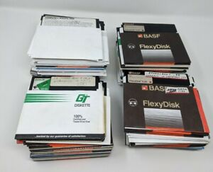"""Lot of ~189 5.25"""" Floppy Disks Commodore 64 128 Sold As Blanks Untested"""