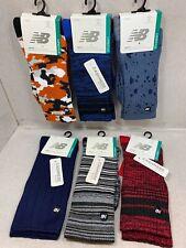 ONE PAIR  New Balance Lifestyle Crew Socks Cashmere Blend MENS LARGE 9-12.5