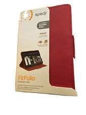 *NEW* Speck FitFolio Amazon Kindle Fire HD 7 inches Display Red Case