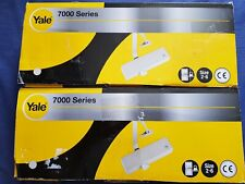 ****2x Yale P-7000 – Door Closer 2-6, Silver Finish up to 120kg weight