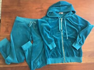 juicy couture blue size S velours tracksuit