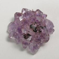 Drusy Druzy Small Amethyst  Flower Stalactite Tip H610
