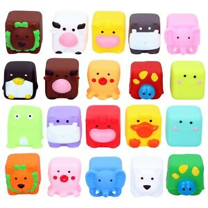 10 Baby Bath Childrens Tub Time Fun Squeezy Water Play Toy Buddies Swimming Pool