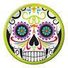 8 Halloween Día de los Muertos Platos 18cm Calavera Vajilla Fiesta Dia Muertos