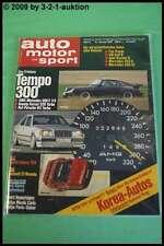 AMS Auto Motor Sport 3/87 AMG 300 E V8 König Ferrari 328 Ruf Porsche