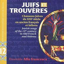 FREE US SHIP. on ANY 3+ CDs! USED,MINT CD Ensemble Alla Francesca: Juifs Et Trou