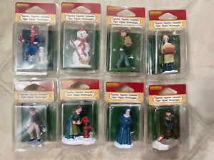 Lot Of Rare & Retired Lemax Christmas Holiday Village Figurines Accessories NIP