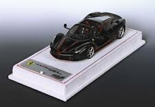 Ferrari LaFerrari Aperta Daytona Black Rosso Corsa Livery 1:43 - BBRC187A1 BBR