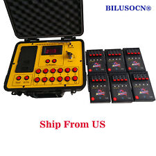 Free ship 24cues 500M distance program fireworks firing system wireless control