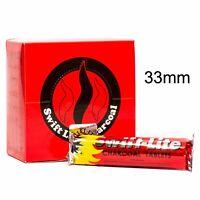 Swift Lite Large 33mm Charcoal Incense Hookah Shisha Pooja Resin 1 - 100 Bars