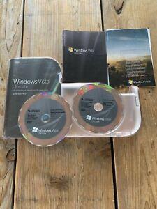 Microsoft Windows Vista Ultimate SP1, Deutsch mit MwSt-Rechnung auf Ihren Namen
