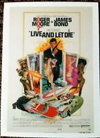 "James Bond limited Edition 9 card trading card set - ""Live and Let Die"""