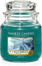 Yankee Candle Medium Jar Icy Blue Spruce 411g