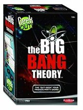 Geek Out The Big Bang Theory Edition Family Trivia Board Game PLE66204 TBBT