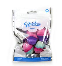 Regenbogen Radiergummis - Viererpack